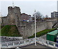 SU4111 : Arundel Tower and the medieval town walls, Southampton by Jaggery