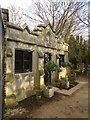 TQ2986 : Entrance lodge, Highgate Cemetery by Julian Osley