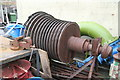 TQ1878 : London Museum of Water & Steam - turbine rotor by Chris Allen