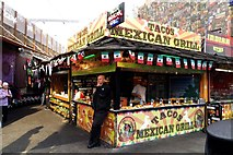 TQ2884 : Tacos Mexican Grill in Camden Lock Market by Steve Daniels