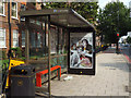TQ3378 : Art Everywhere No 6, Old Kent Road bus shelter by Robin Stott