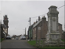 NX4355 : Wigtown War Memorial by Les Hull