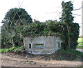 TM2781 : WW2 pillbox beside Withersdale Road by Evelyn Simak