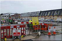 SK5236 : NT construction on Chilwell Road by David Lally