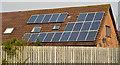 J4872 : Domestic solar panels, Newtownards by Albert Bridge