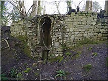 ST5295 : Piercefield Park Druid's Temple by Paul Brooker