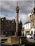 NT2540 : Peebles Mercat Cross by James Denham