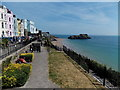 SN1300 : Viewing area alongside The Esplanade, Tenby by Jaggery