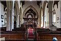 SK8736 : Interior, All Saints' church, Barrowby by J.Hannan-Briggs