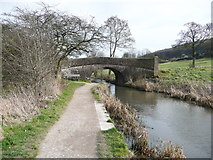 SK3056 : Field access bridge over the Cromford Canal by Humphrey Bolton