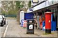 J3379 : Pillar box BT15 557, Belfast by Albert Bridge