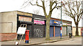 J3574 : Shops, Templemore Avenue, Belfast (March 2014) by Albert Bridge