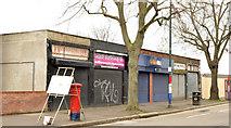 J3574 : Shops, Templemore Avenue, Belfast (March 2014) by Albert Bridge