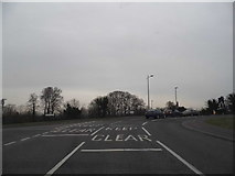 TQ2158 : Langley Vale Road at the junction of Ashley Road by David Howard