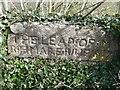 SK3057 : The 'Leap Stone' on Cromford Bridge by Humphrey Bolton