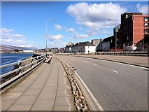 NN1073 : Town Centre Bypass at Fort William by David Dixon