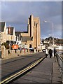 NM8530 : Corran Esplanade, St Columba's Cathedral by David Dixon
