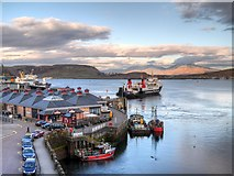 NM8529 : Early Departure, Oban Ferry Terminal by David Dixon