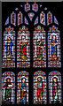 TQ8833 : West Window, St Mildred's church, Tenterden by Julian P Guffogg