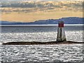 NM7734 : Lady's Rock, Firth of Lorn by David Dixon