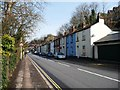 SX9192 : Multi-coloured terraced houses, Bonhay Road by Christine Johnstone
