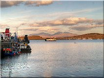 NM8529 : Oban Ferry terminal by David Dixon