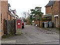 SK8214 : Whissendine West End postbox ref LE15 17 by Alan Murray-Rust