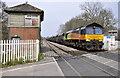 SO6907 :  Gloucester to Chepstow Railway Line by Stuart Wilding
