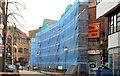 J3374 : The disguised Lower Garfield Street, Belfast - April 2014(1) by Albert Bridge