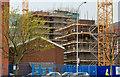 "J3374 : Block ""B"", University of Ulster site, Belfast - April 2014(2) by Albert Bridge"