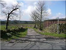 SE1241 : Bridleway off Otley Road by Humphrey Bolton