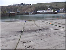 NO8785 : Entrance to Inner Harbour, Stonehaven by Stanley Howe