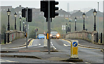 J3471 : The King's Bridge, Belfast - April 2014(1) by Albert Bridge