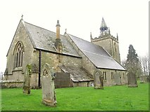 NY9371 : St. Giles Church, Chollerton (2) by Mike Quinn