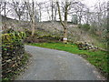SE0420 : A sharp bend on Ryburn Lane, Ripponden FP59 by Humphrey Bolton