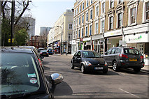 TQ2784 : England's Lane, Belsize Park by Kate Jewell