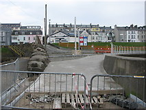 C8540 : Construction at West Bay promenade Portrush by Willie Duffin