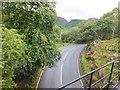 SH5945 : Railway bridge crossing A4085 road by Richard Hoare