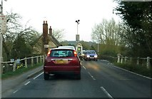 SP4408 : Queuing at the toll bridge by Steve Daniels