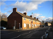 SJ9223 : Houses on North Walls, Stafford by Richard Vince