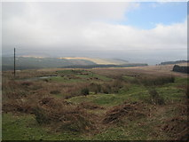 NX5562 : Moorland above Dromore by Les Hull