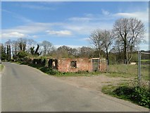 TG3127 : Derelict watermill at Briggate by Adrian S Pye