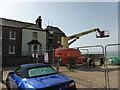 TV5595 : Demolition of Coastguard House at Birling Gap by PAUL FARMER