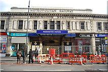 TQ2681 : Paddington Underground Station by N Chadwick