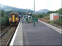 NN3825 : Crianlarich Upper railway station by Nigel Thompson