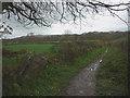 SD5377 : Slape Lane heading north east by Karl and Ali
