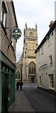 SP0202 : The Parish Church of St John the Baptist in Cirencester by Anthony Parkes