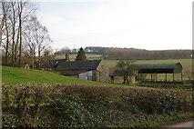 SK1342 : Knaveholm Farm by Bill Boaden