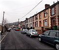 ST0598 : Towards the dead end of Albert Street, Miskin by Jaggery