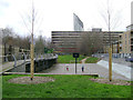 TQ3278 : Ball games area, Victory Community Park, Walworth by Robin Stott